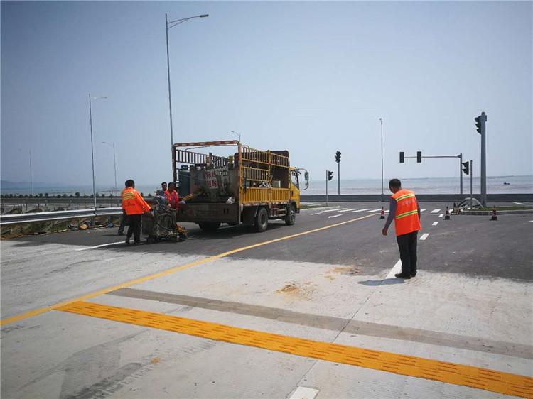 交通标線施工價格 廈門宏乾交通設施工程供應