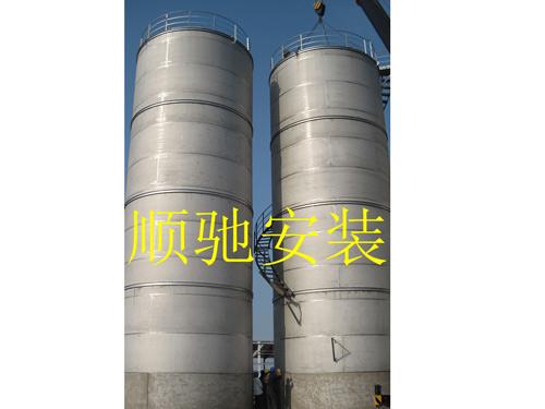 徐州不鏽鋼儲罐安裝價格 鹽城市順馳安裝工程供應