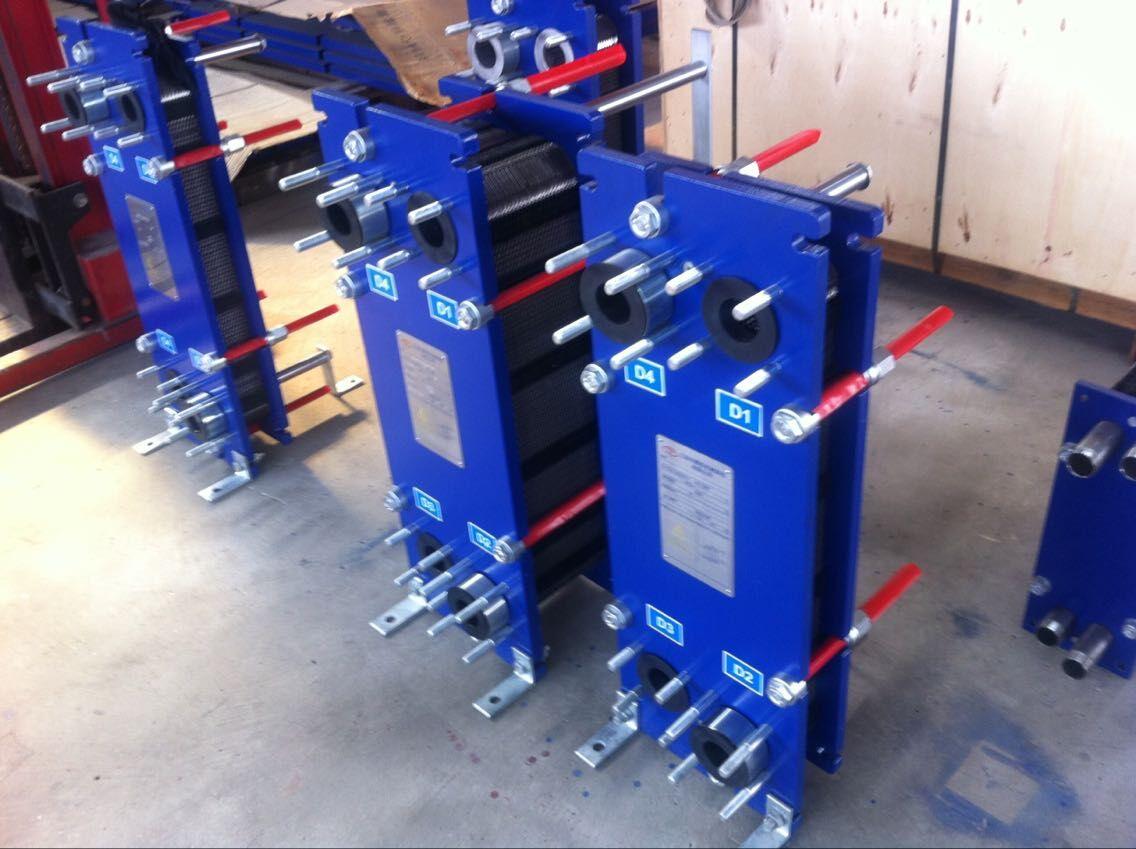 金华乳化液冷却板式换热器厂家供应 泰州弗斯特换热设备供应