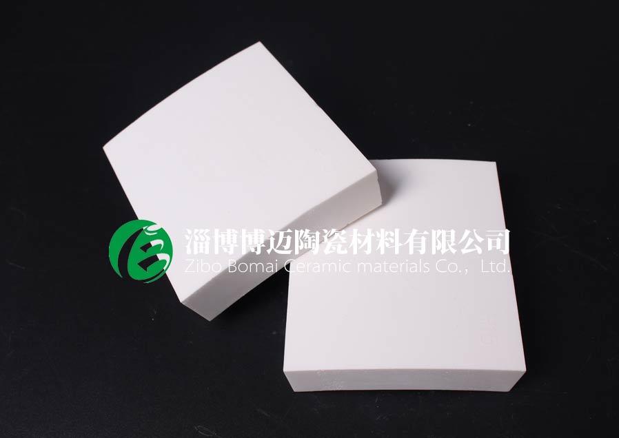 上海洗煤廠料斗用耐磨陶瓷襯板生產廠家 歡迎咨詢 淄博博邁陶瓷材料供應