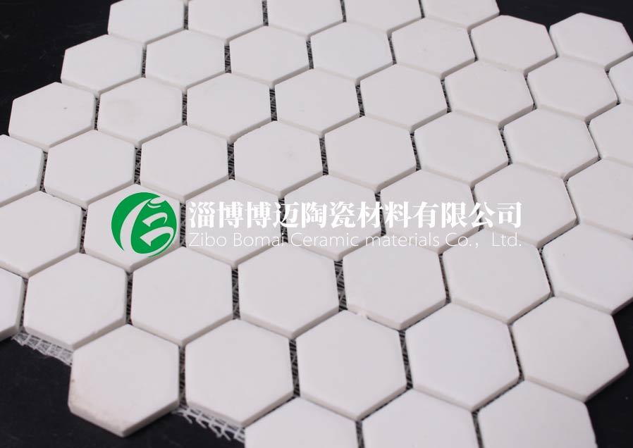 上海水泥厂立磨筒体耐磨陶瓷衬板定制 值得信赖 淄博博迈陶瓷材料供应