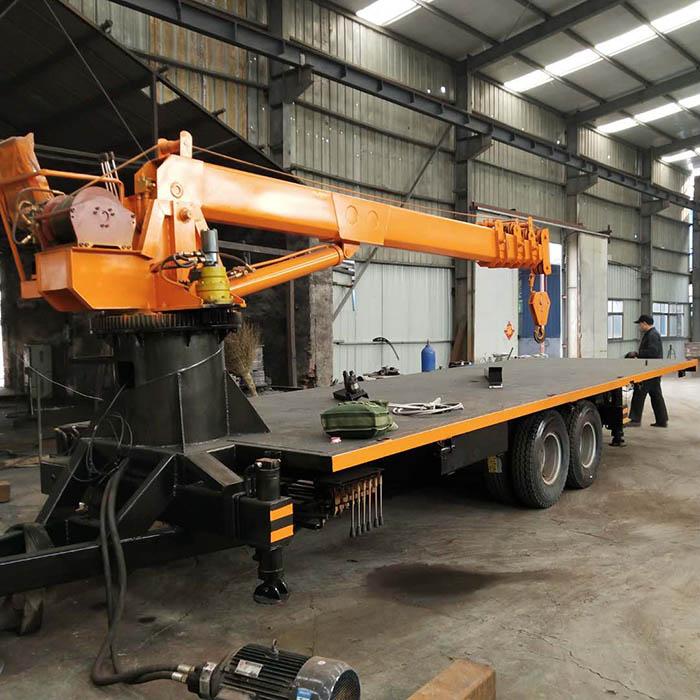 陕西全液压6吨拖拉机平板吊多少钱 济宁久征工程机械供应