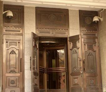 宿迁酒店铜门厂 欢迎来电 淮安市信和铜门供应
