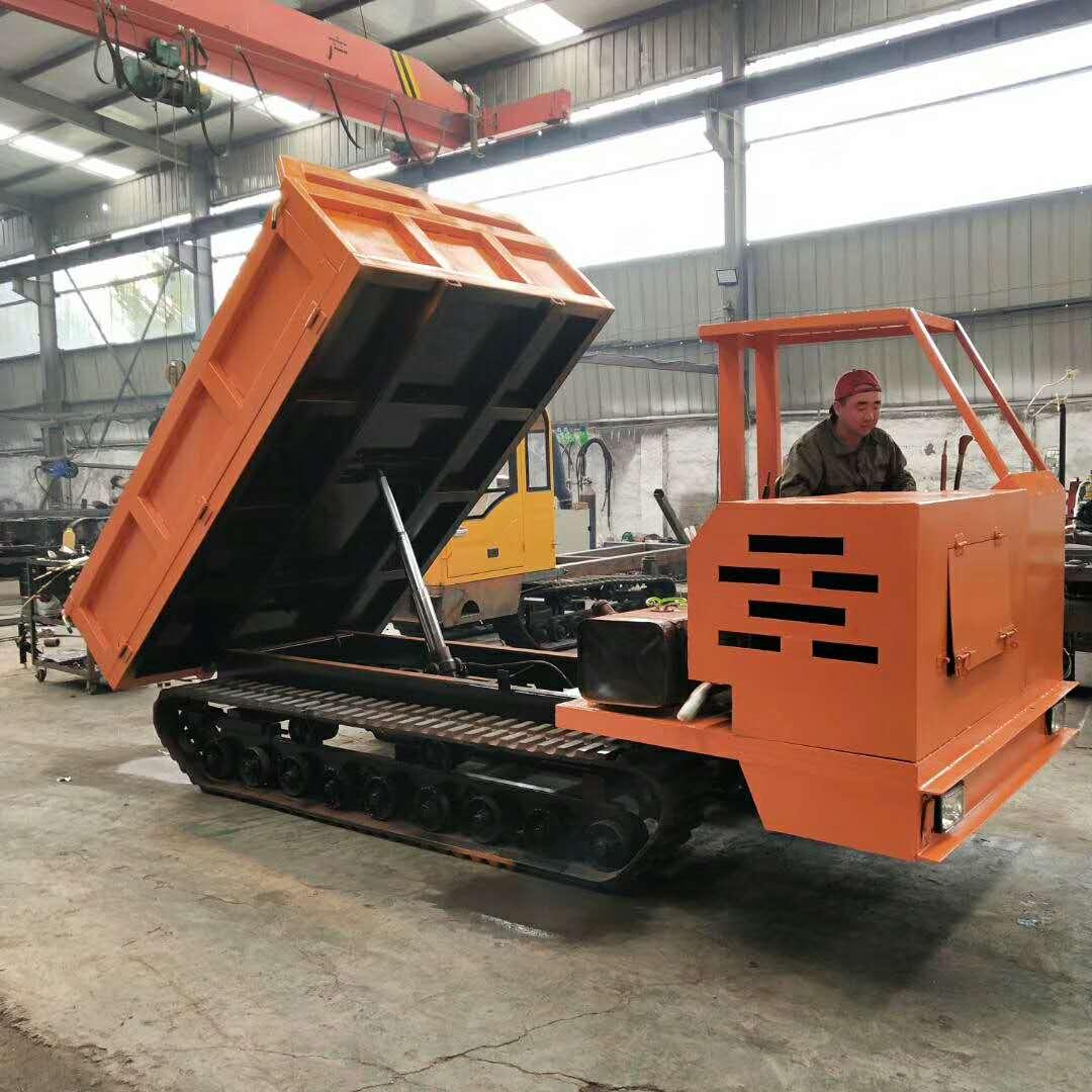江西4吨履带专业稻草运输车履带运输车价格 欢迎来电 济宁力征工程机械供应