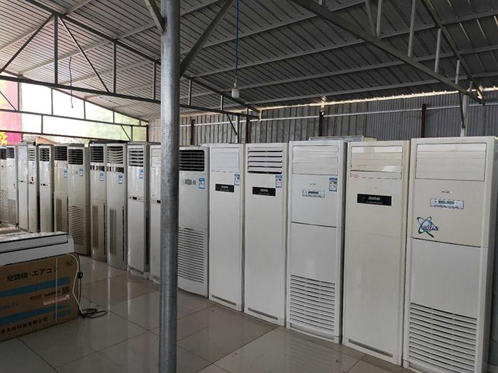 河南二手空調哪里賣 南陽市涵越電器供應