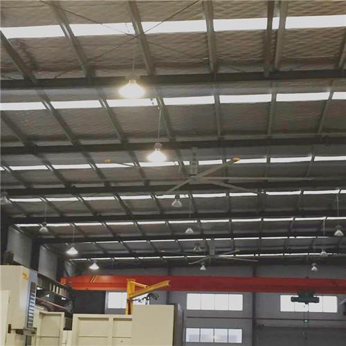 上海商业直流永磁大吊扇永磁无刷工业吊扇高大厂房降温 上海爱朴环保科技供应
