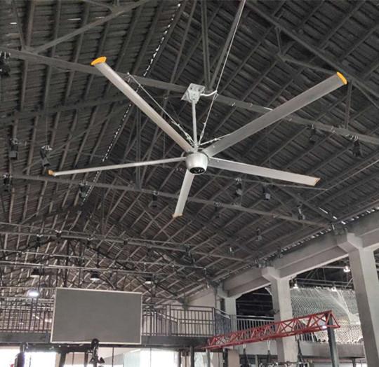 上海永磁無刷工業吊扇高大廠房降溫 上海愛樸環保科技供應