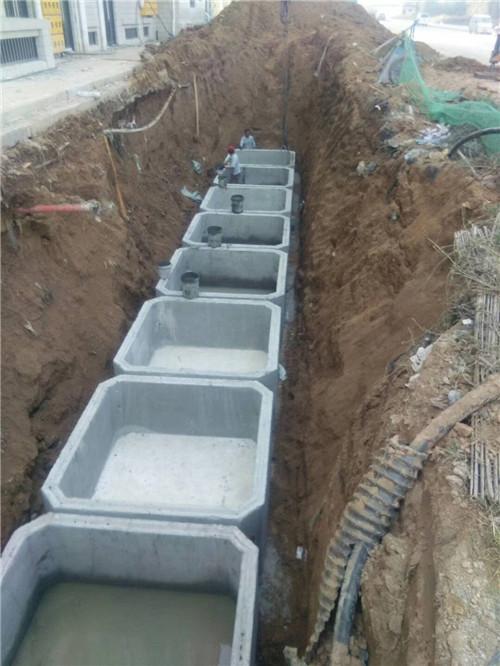 商丘预制组合式钢筋混凝土化粪池生产厂家 值得信赖 郑州盛彩建筑材料供应
