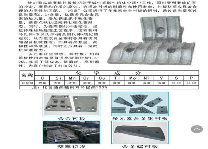 伊犁耐磨合金鋼廠家直銷 歡迎咨詢 新疆湘泉耐磨合金鋼制造供應