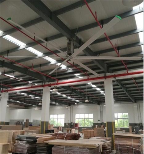 上海工廠大型通風扇廠房降溫吊扇哪家好 上海愛樸環保科技供應