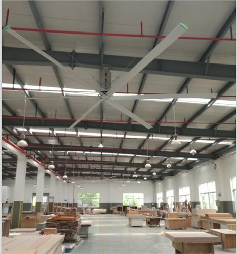 上海8米工业大风扇通风换气 上海爱朴环保科技供应
