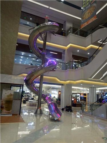上海不锈钢滑梯直销-百龙玛供-上海不锈钢滑梯供应