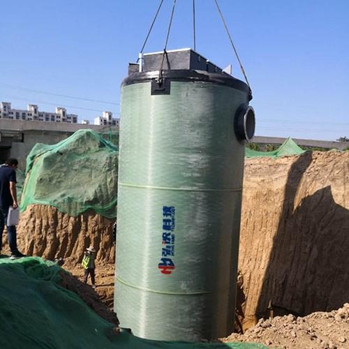 定制安徽玻璃钢预制泵站一体化泵站厂家