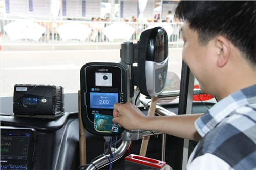 电子扫码支付终端 二维码公交刷卡机 杭州公交地铁刷码 国朗供