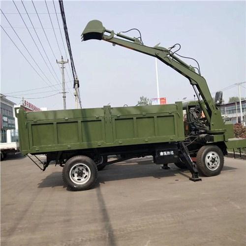山東廠家熱銷運輸車小型隨車挖按需定制 承諾守信 濟寧市恒泰源工程機械供應