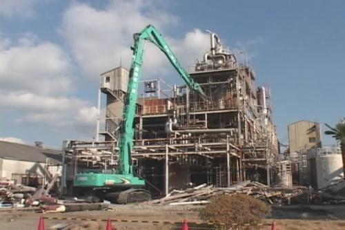 工业锅炉回收整厂设备拆除清理