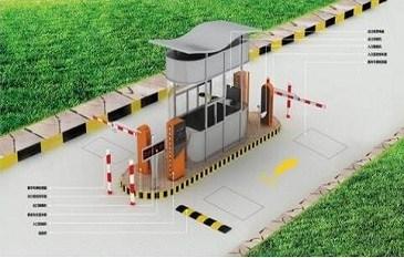 停车场系统中道闸的使用流程