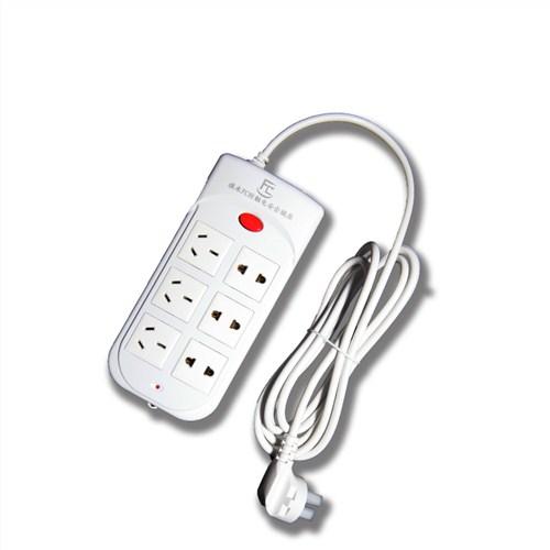 防触电带线开关排插 家用多孔电源插座 多功能插线板