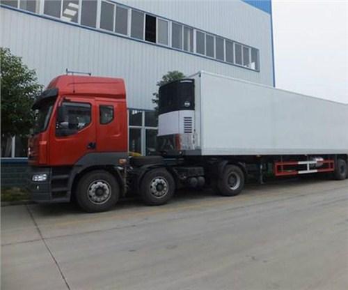 上海到张掖食品冷链物流运输