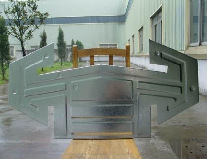 条形气楼安装流程