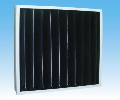 长期供应活性碳过滤网 板式过滤网 折叠过滤网 含碳量高