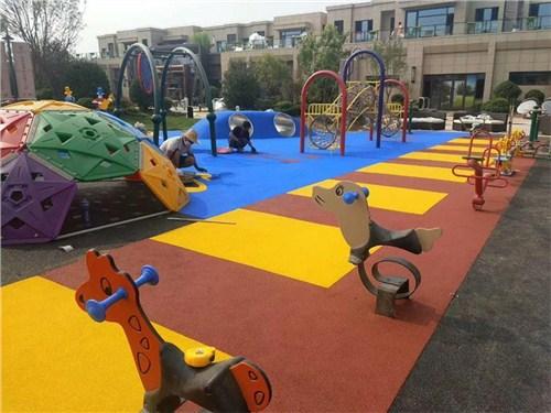 儿童游乐场塑胶地坪