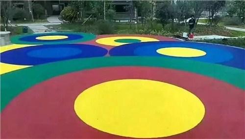 别墅塑胶地坪施工