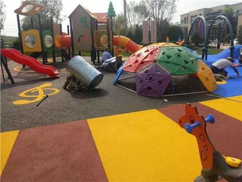 游乐场环保塑胶地坪