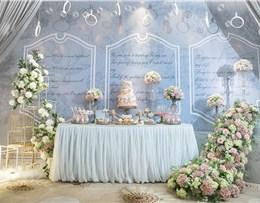 灰调主题婚礼