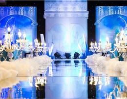 蓝调主题婚礼