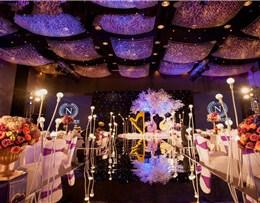 紫色梦境主题婚礼