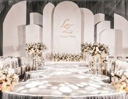 简洁风主题婚礼