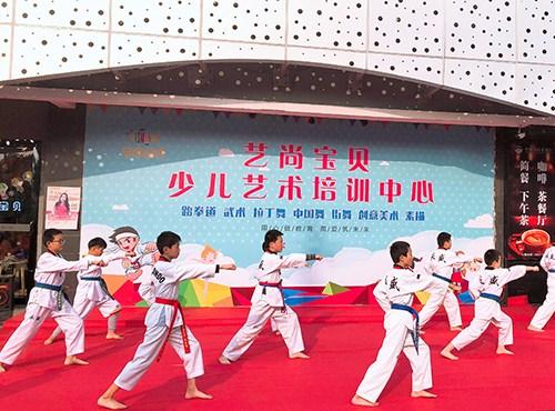 苏州跆拳道艺术培训「艺尚宝贝供应」