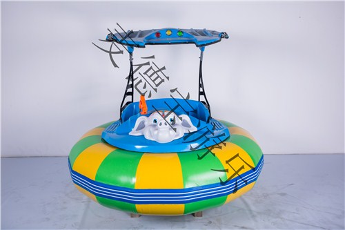 苏州儿童游乐玩具双人激光碰碰船