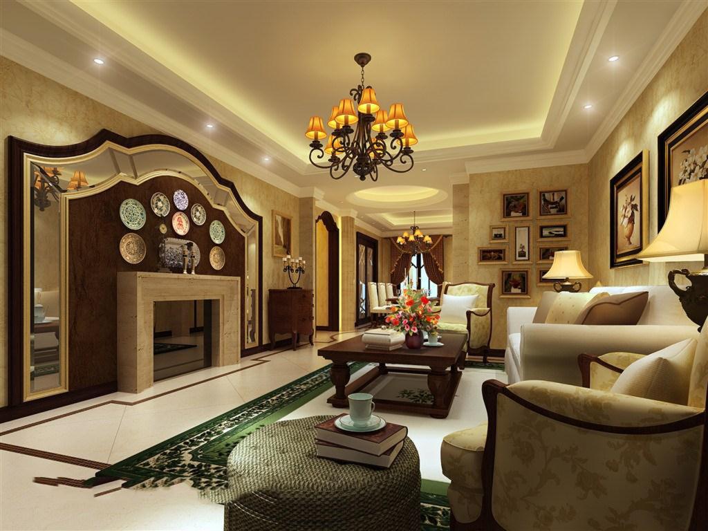 l型客厅装修设计图
