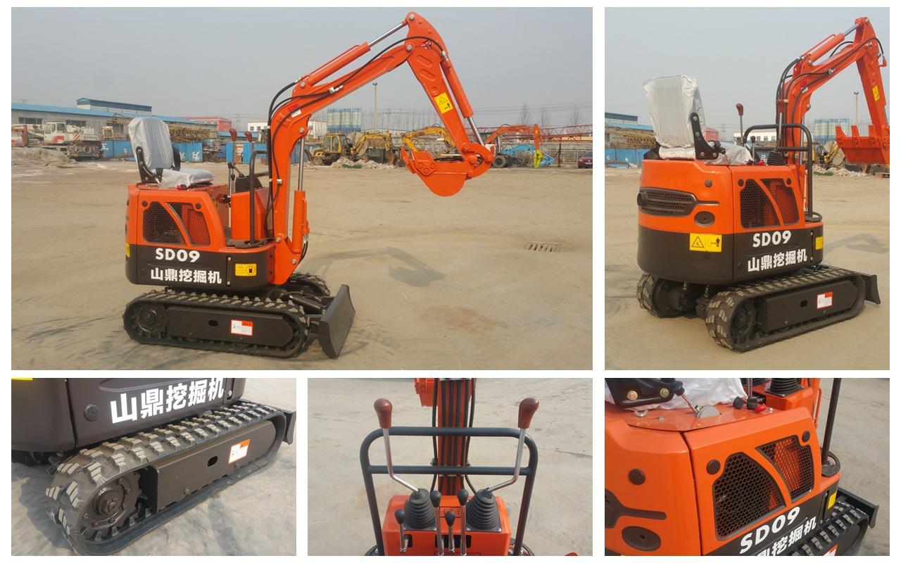 国产3吨微型挖掘机价格 山鼎供图片