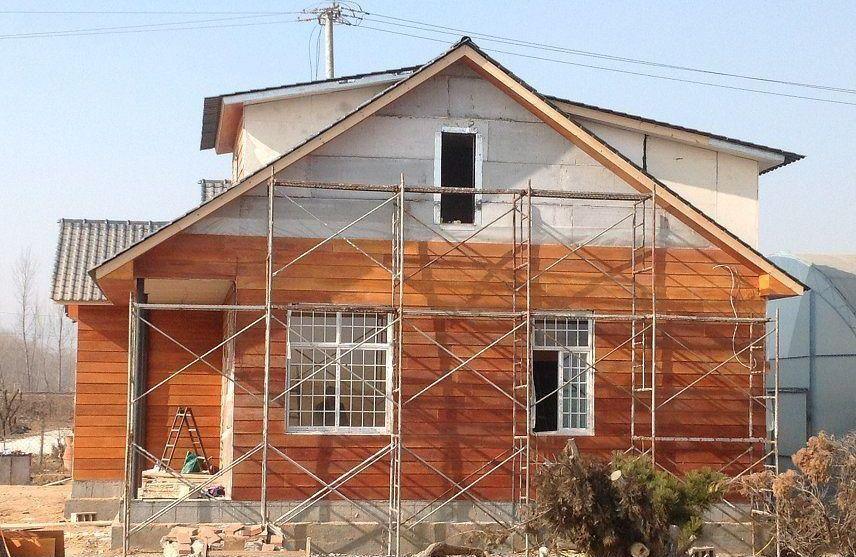 秸秆瓦在钢结构别墅中的应用