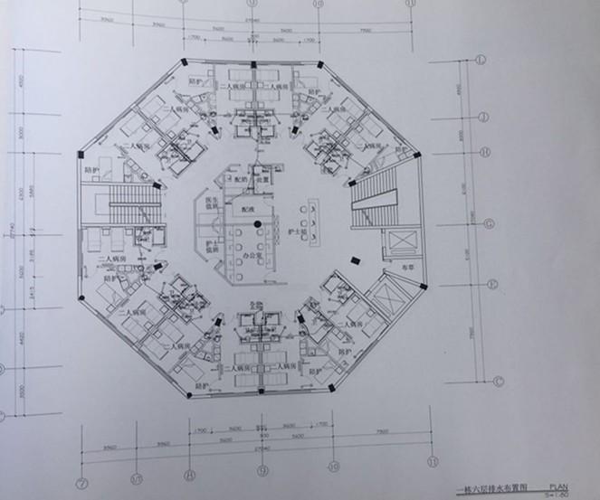 医院水路设计图