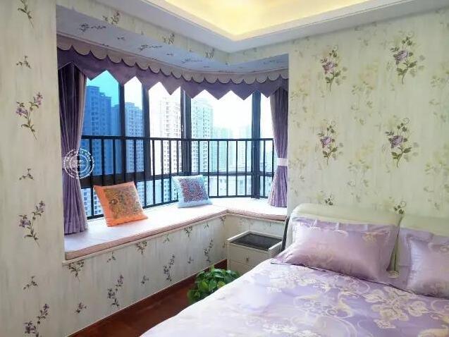 飘窗窗帘怎样做好看 飘窗窗帘效果图 飘窗窗帘怎么装如鱼得水供
