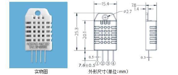 乐享am2302温湿度传感器湿敏电容推荐