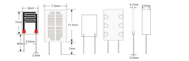 主营项目 > 主营项目  一,产品概述 hr202l 湿敏电阻器是采用有机高