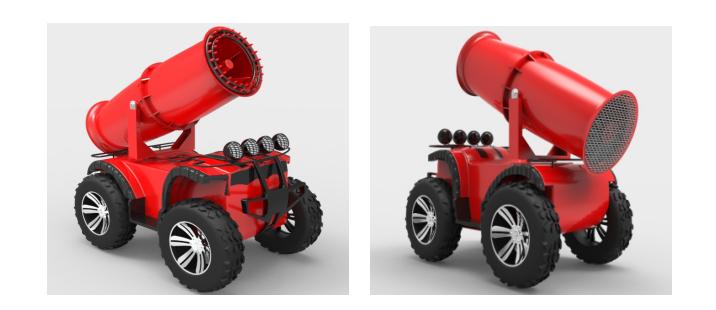 广州消防机器人特种机器人智能机器人华狮供