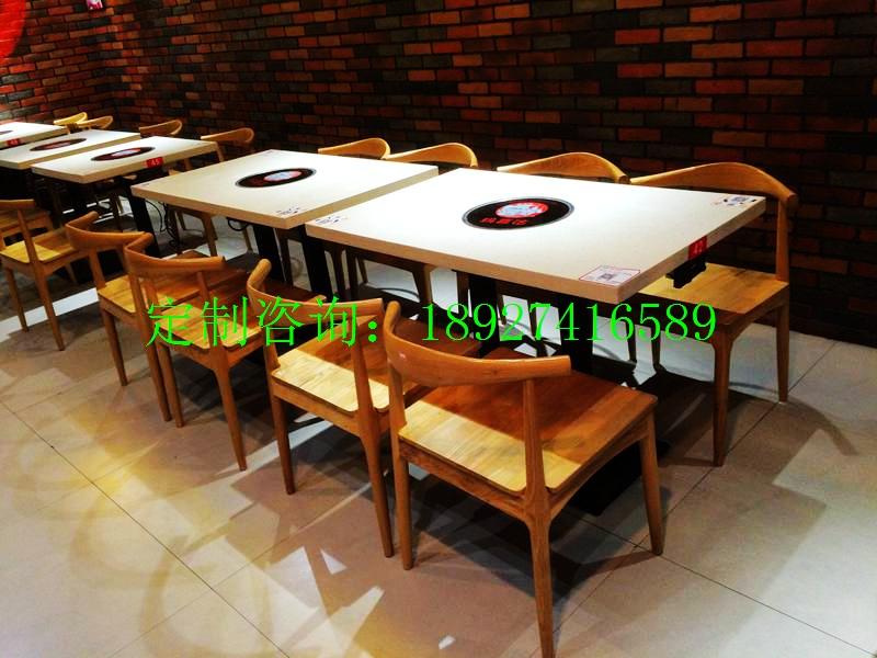 火锅桌搭配图 厂家火锅桌搭配图 大理石火锅桌搭配图 典艺坊供