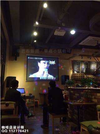 咖啡店厅馆屋装修吊顶软装饰风格吧台墙面店招菜单灯光橱窗布局效果图