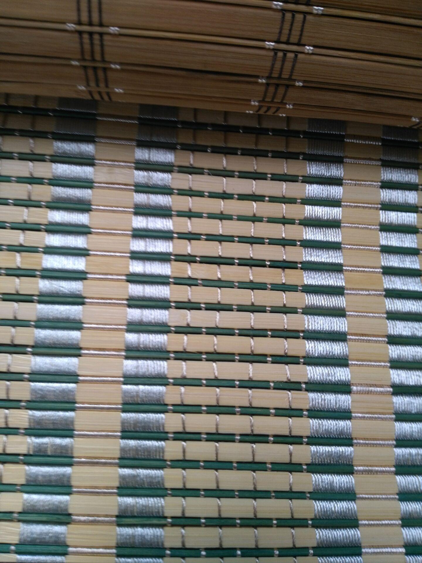 竹帘隔断的安装方法