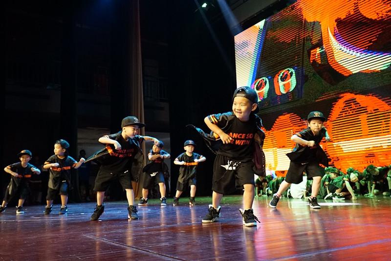 上海普陀区少儿儿童学街舞的地方