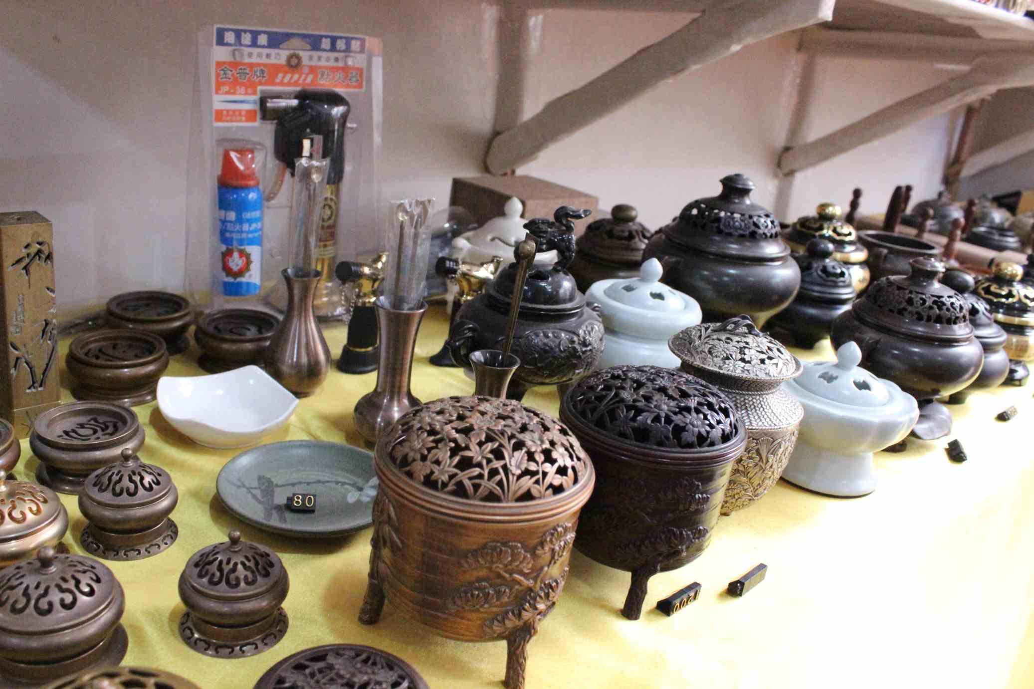 上海国际根雕古玩城亿诚香道茶道精品馆