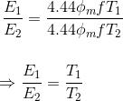 EMF方程