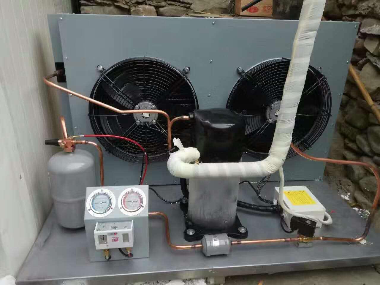 由于排管冷库化霜的时候水滴可能会直接落到冷库内,所有很多时候需要