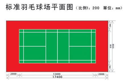 排球场平面�_羽毛球场地坪 彩色羽毛球场地坪漆标准羽毛球场地坪漆